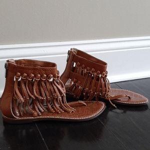 NWOT Sam Edelman fringe sandals